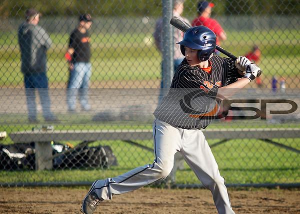 2013-4-25 Blaine 8th Gr Baseball vs. Meridian