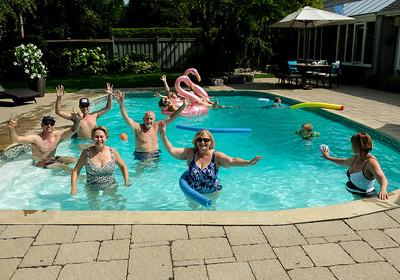Pool Party - Aug 2018   Sachs & Streichs
