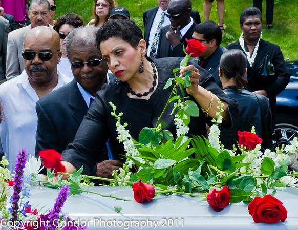 Funeral for Lenard Harris