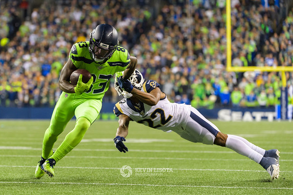 Seattle Seahawks vs Los Angeles Rams - October 3, 2019