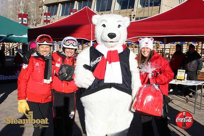 Coke Steamboat Polar Bear