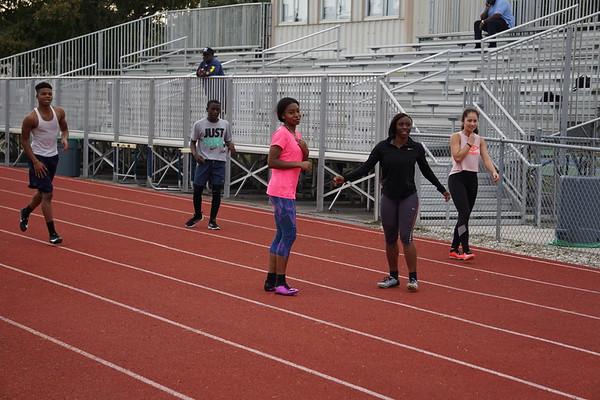 Varsity Track Practice 2/4/19