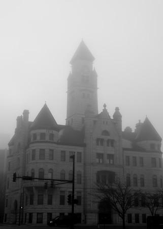 Fog~Downtown Wichita March 2016