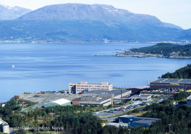 Deler av teknologibyen med Norsk forsvarsteknologi, NFT,