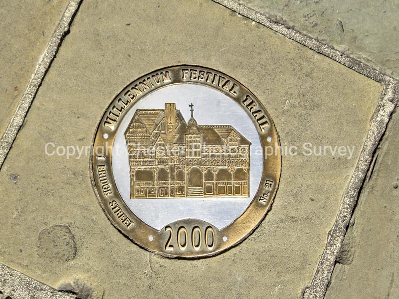 No 21 Millenium Festival Trail 2000 Plaque: Bridge Street
