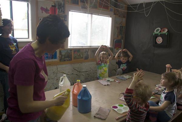 Abbie's Birthday Paint Party