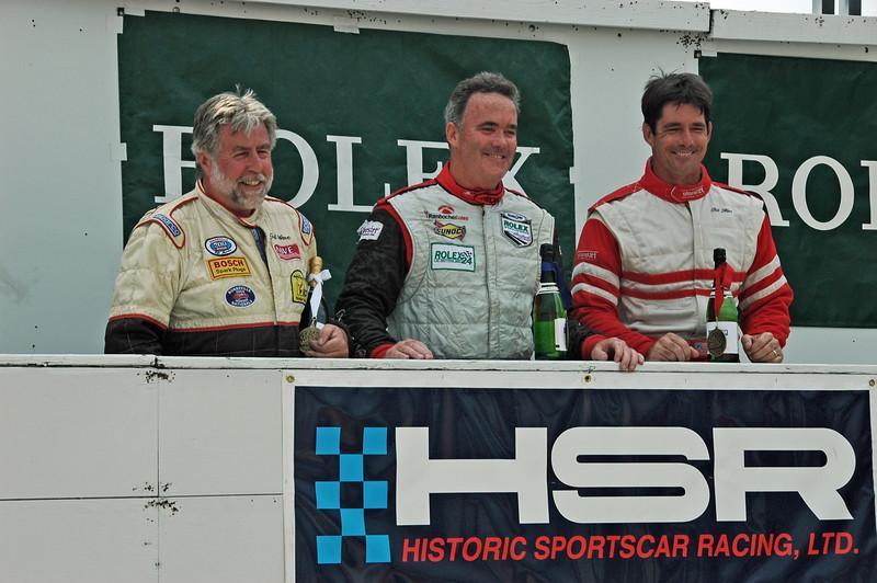 Ted Wenz (3rd)  John Burke (1st)   Bill Hart (2nd)  / Group 4 Winner's Circle
