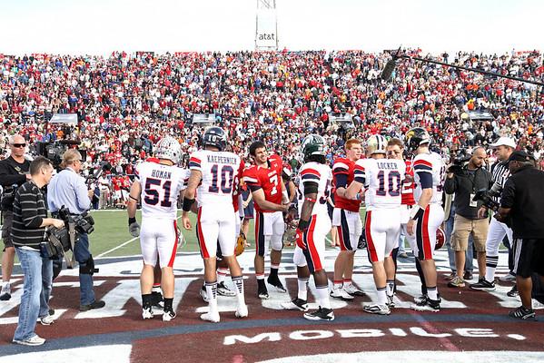 Senior Bowl 2011 - Gameday with Colin Kaepernick