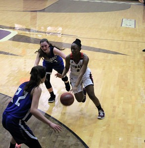 Tenaha vs Broaddus Girls' Basketball Playoffs