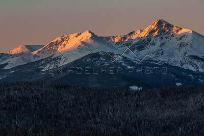 Sunrise in the Northern Sawatch Range, CO