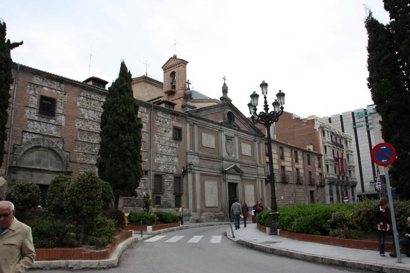Monasterio de las Descalzas Reales.  A very fancy convent for Royal Nuns.