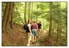 Hiking at Burges Falls