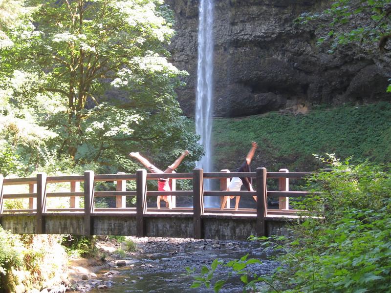Tracy McFarlane - Silver Falls - Oregon - August 2008