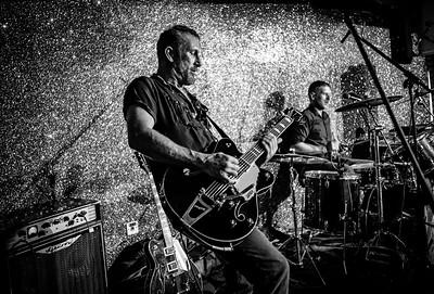 Doc & The Headshrinkers, Welsh Rockabilly 2018 B&W