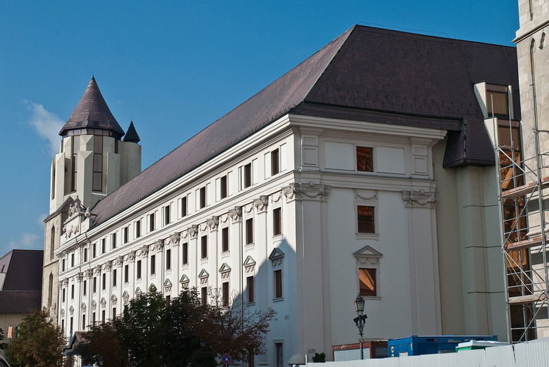 The Hilton Budapest was built on top of an old monestary. You can still see the remains in the basement of the Hilton.