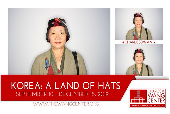 Charles B. Wang Korea: Land Of Hats Gallery Opening