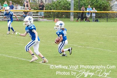 10-06-2018 Rockville Football League Pony Maplewood vs Sandy Spring at King Farm Park Rockville MD, Photos by Jeffrey Vogt Photography