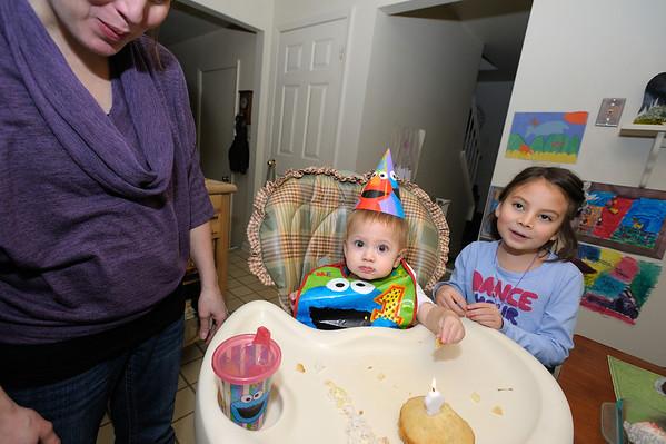 12/15/11 Micah's First Birthday!