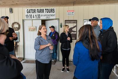 Griffith Alligator Tour