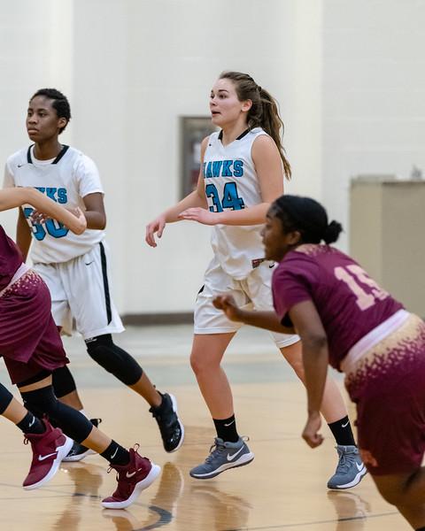2019-01-18 Kings Fork vs Hickory Girls Varsity