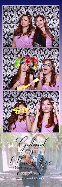 Gab + Mae Wedding Photobooth