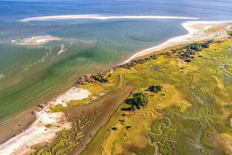 Edisto, Hilton Head, Hunting, Fripp, Prichard, St. Helena, and Daufuskie Islands