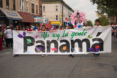 Panamanian Parade, Brooklyn, New York 2014
