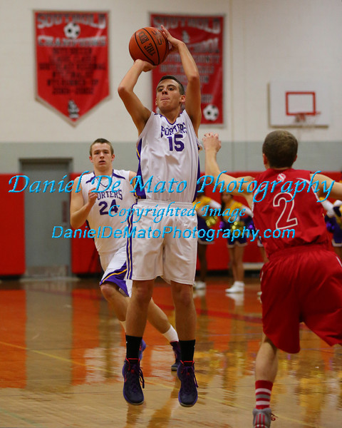Southold vs Greenport Basketball 12-10-13