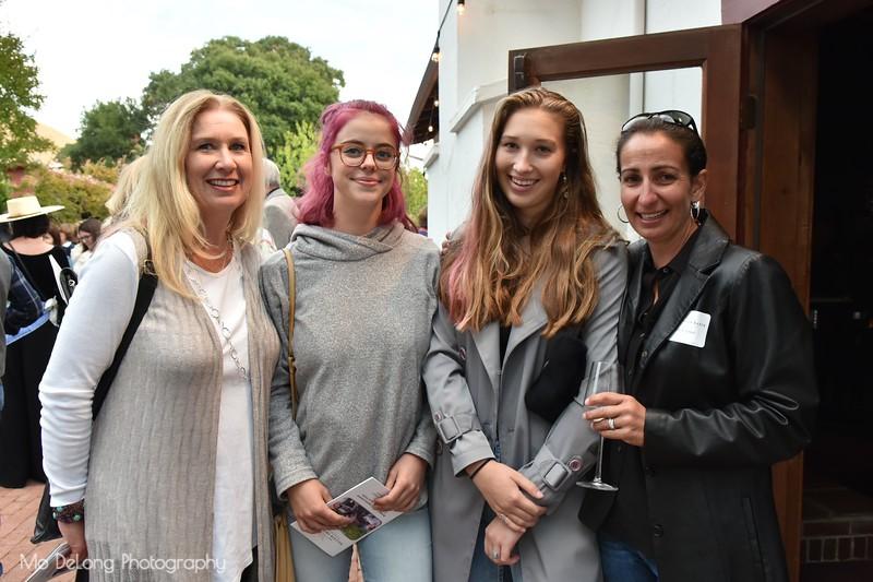 Diana Lammer, Agathe Papillaud, Desi Lammer and Nicole Bachman