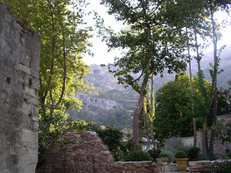 from hotel in fountaine de vaucluse.JPG