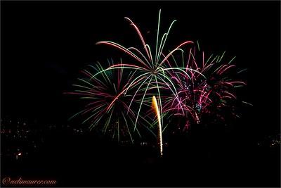 Feuerwerk Jugendfest Brugg