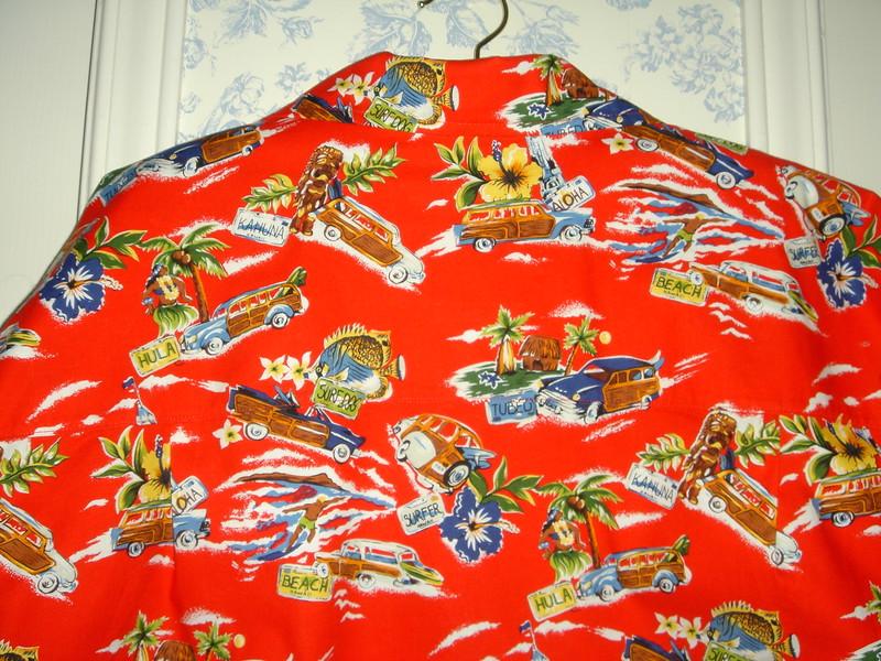 Back yoke dh's shirt