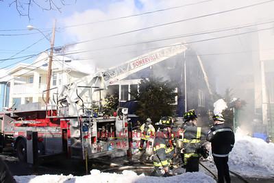 Somerville, MA - 3rd Alarm, 56 Fairfax Street, 1-17-11