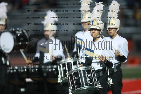 Milpitas High School Marching Band and Color Guard