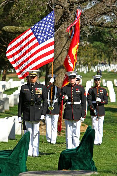 Paul's Burial at Arlington National Cemetary