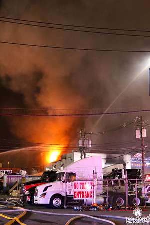 3 Alarm Commercial Building Fire - 860 North Ave, Elizabeth, NJ - 3/2/20