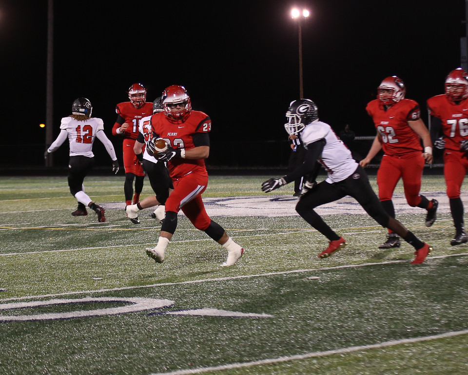 . Coleen Moskowitz - The News-Herald Photos from the Perry-Girard Division IV regional semifinal on Nov. 10.