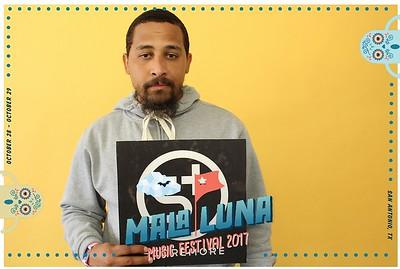 Mala Luna Artist Booth