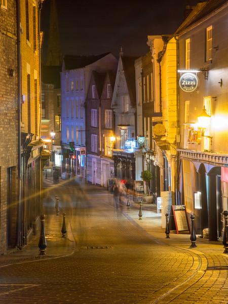 Saddler Street in Durham
