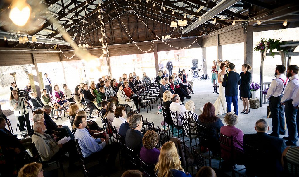 . The April  2014 wedding of Cody Bauman and Paige Collins at Hope Glen Farm in Cottage Grove. (Pioneer Press: Ben Garvin)
