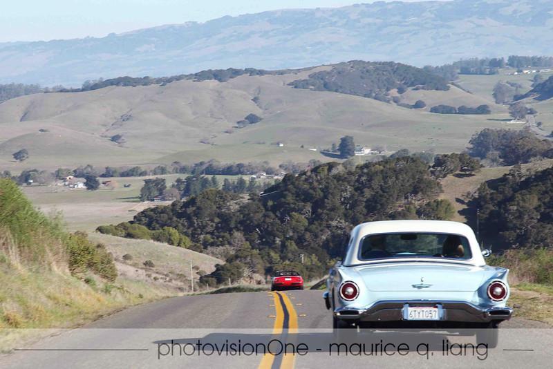 Heading back inland towards Petaluma.