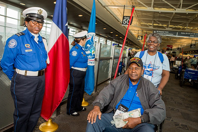 Honor Flight Houston - Send off