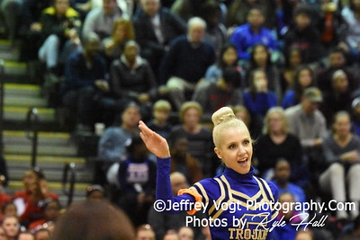 02-13-2016 Gaithersburg HS Varsity Poms at Blair HS MCPS Championship, Photos by Jeffrey Vogt Photography with Kyle Hall