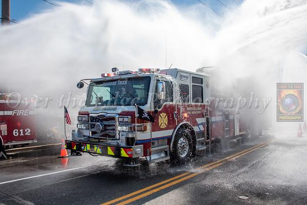 Dedication & Wetdown of Tower Ladder 657 10/17/2021