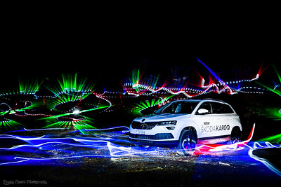 Cars Light Paintings