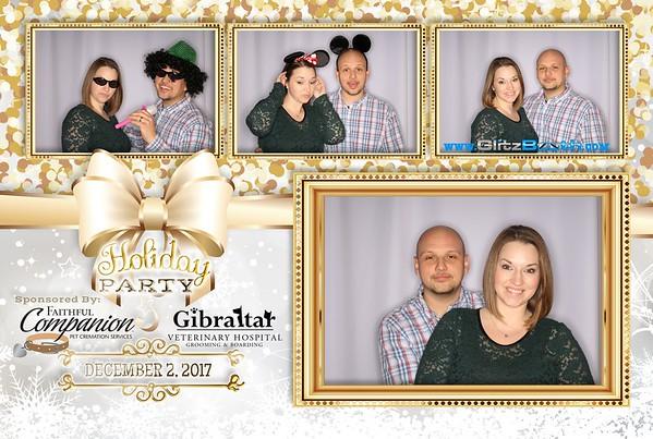 Gibraltar Veterinary Hospital 2017 Holiday Party