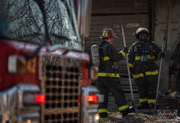 Detroit MI, House Fire 3-25-2020