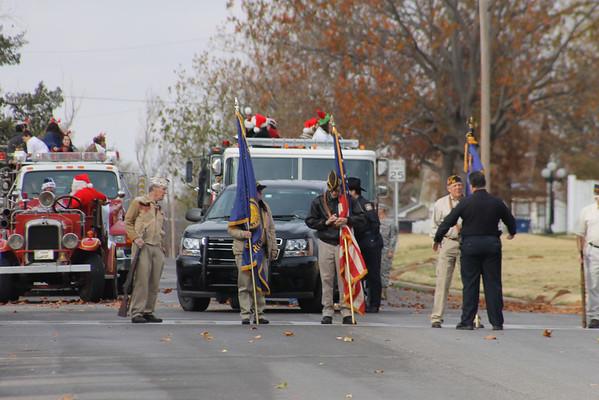 Marlow Christmas Parade Dec. 1, 2012