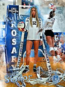 2021 Rosary VB Senior Player Banners