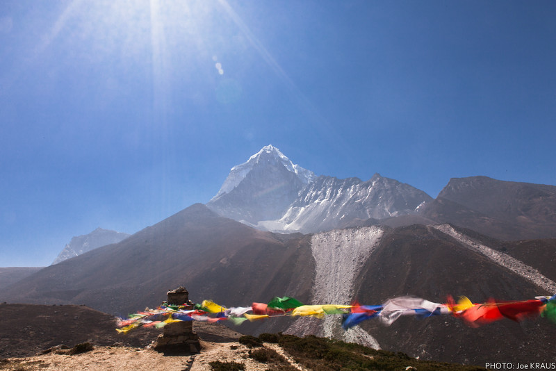 Prayer Flags in the Wind - 2
